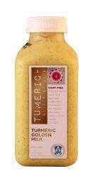 Tumeric - The Elixir of Life: Tumeric GoldenMilk Front