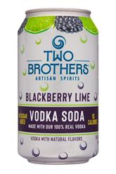 Vodka Soda - Blackberry Lime
