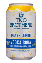 Vodka Soda - Meyer Lemon