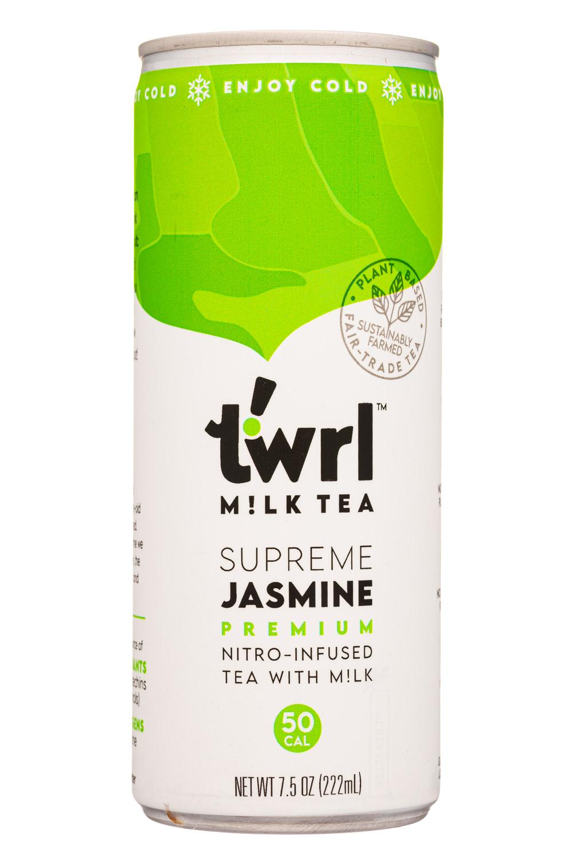 Supreme Jasmine Premium Nitro-Infused Tea with Milk