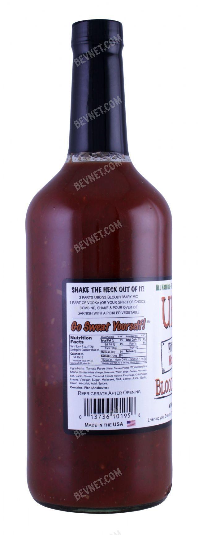 Ubons Bloody Mary Mix: