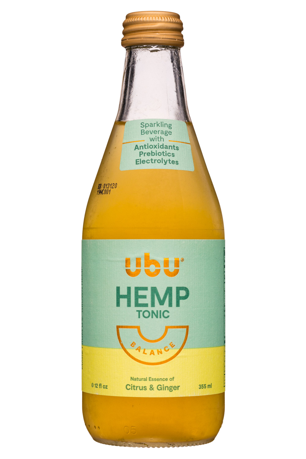 Balance - HEMP TONIC: Citrus & Ginger