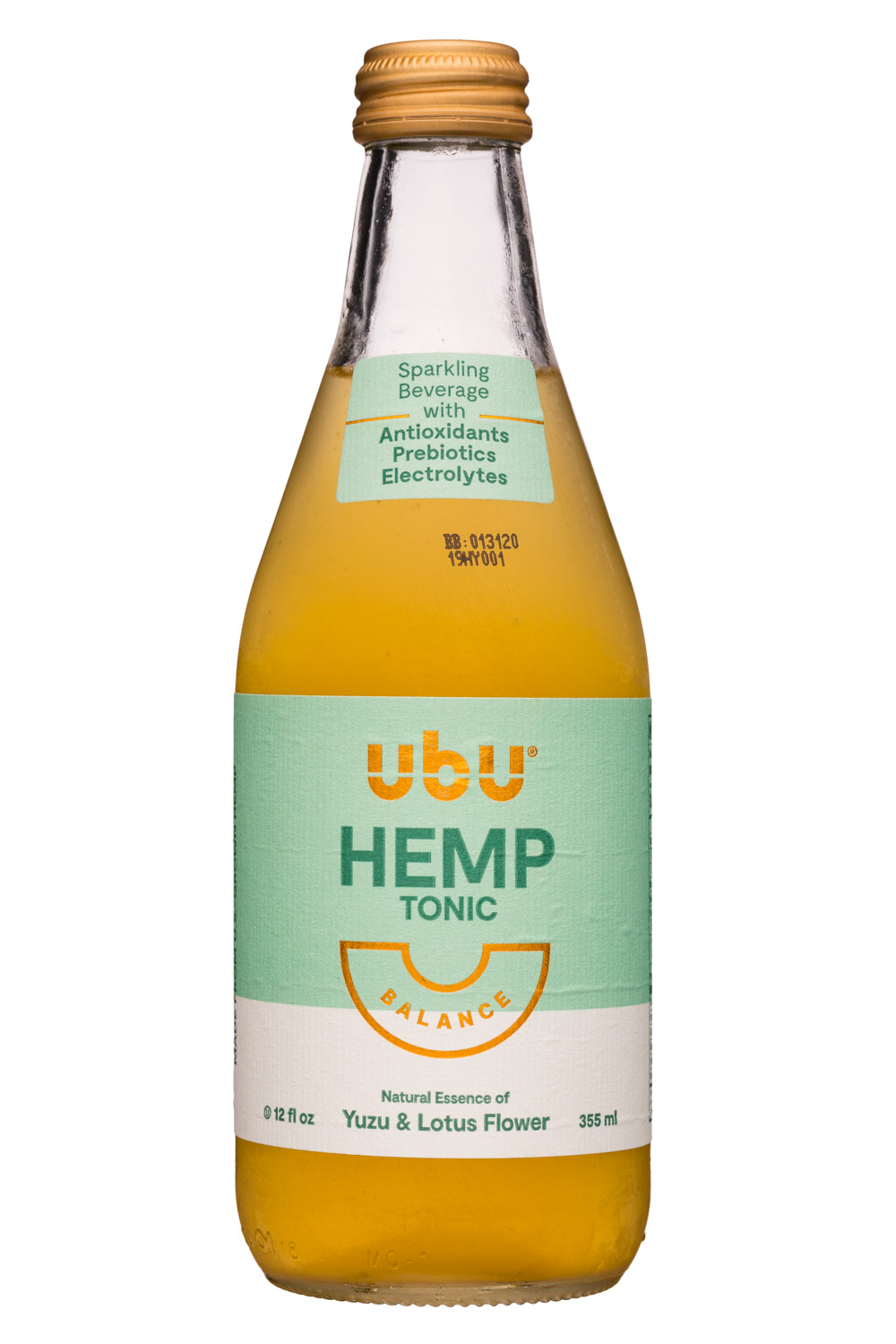 Balance - HEMP TONIC: Yuzu & Lotus Flower