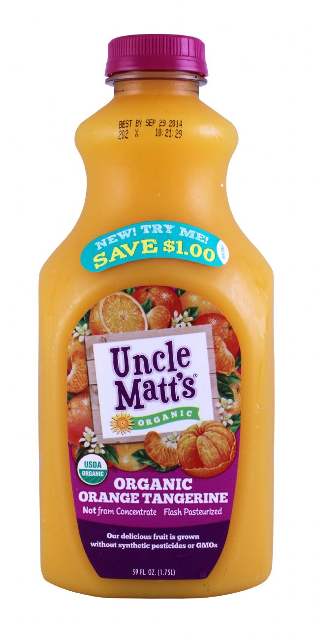 Uncle Matt's: UncleMatt OrangeTang Front