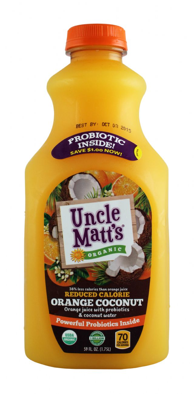 Uncle Matt's: UncleMatt Coconut Front