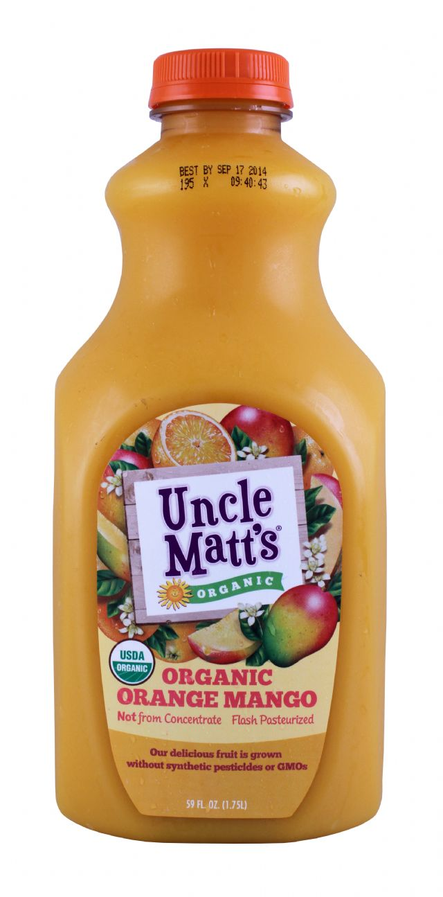 Uncle Matt's: UncleMatt OrangeMang Front