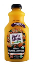 Uncle Matt's: UncleMatt Tumeric Front