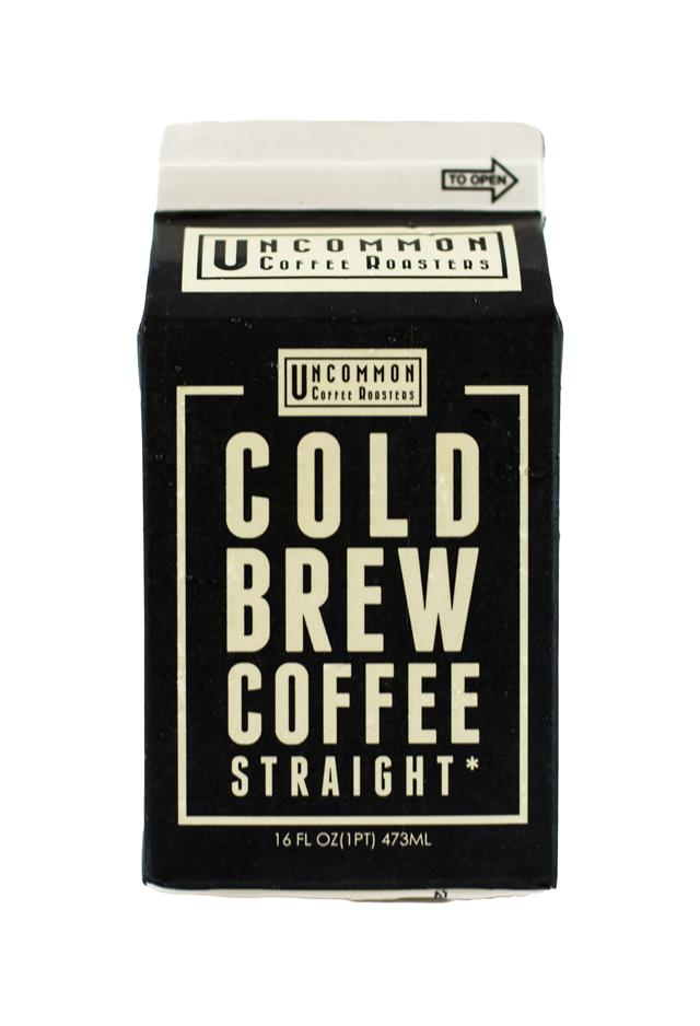 Uncommon Coffee Roasters Cold Brew: Uncommon Straight