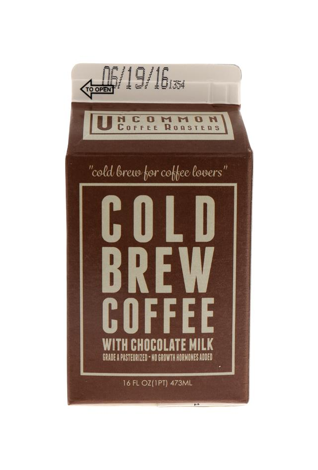 Uncommon Coffee Roasters Cold Brew: UncommonCB Choco Front