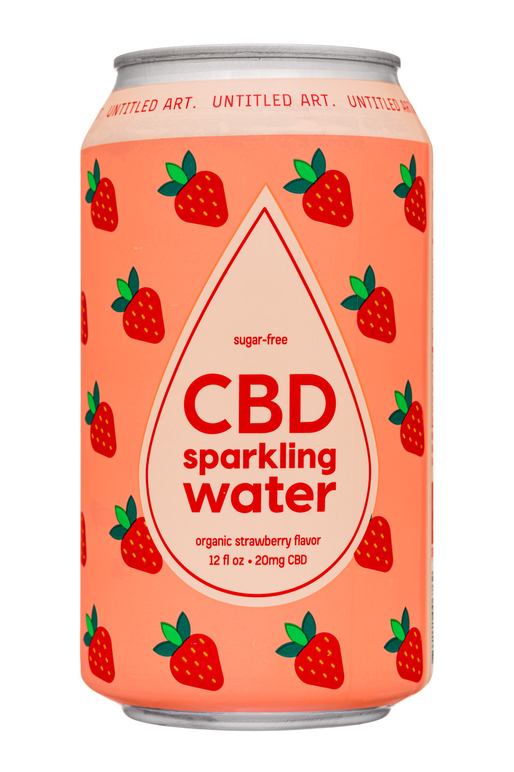 Organic Strawberry Flavor CBD 20mg