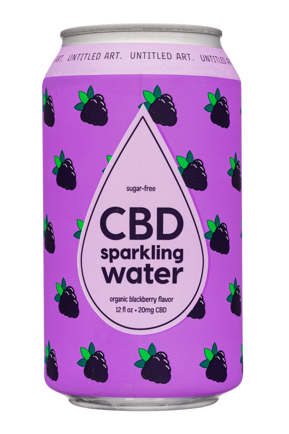 Organic Blackberry Flavor CBD 20mg