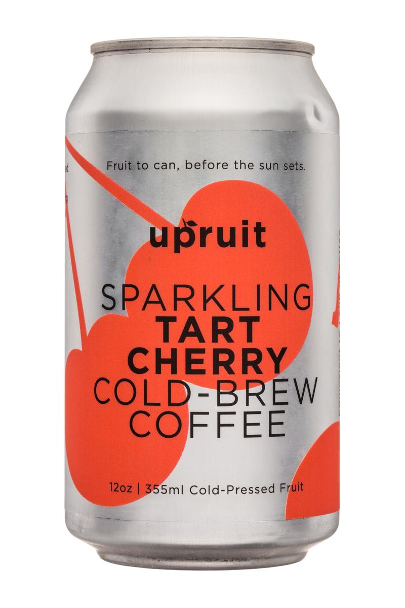Upruit: Upruit-12oz-SparklingColdBrew-TartCherry-Front