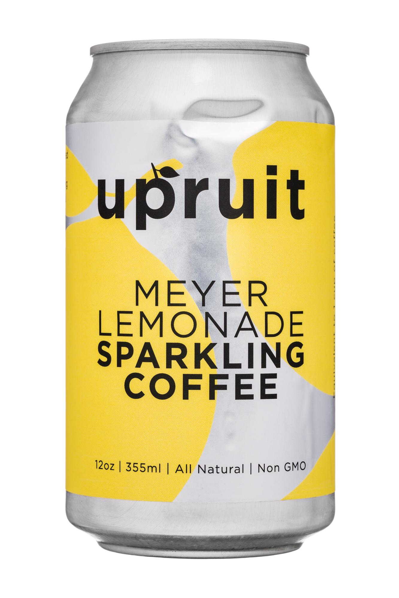 Upruit: Upruit-12oz-SparklingCoffee-MeyerLemonade-Front