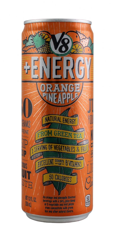 V8 +Energy: V8 OrangPine Front