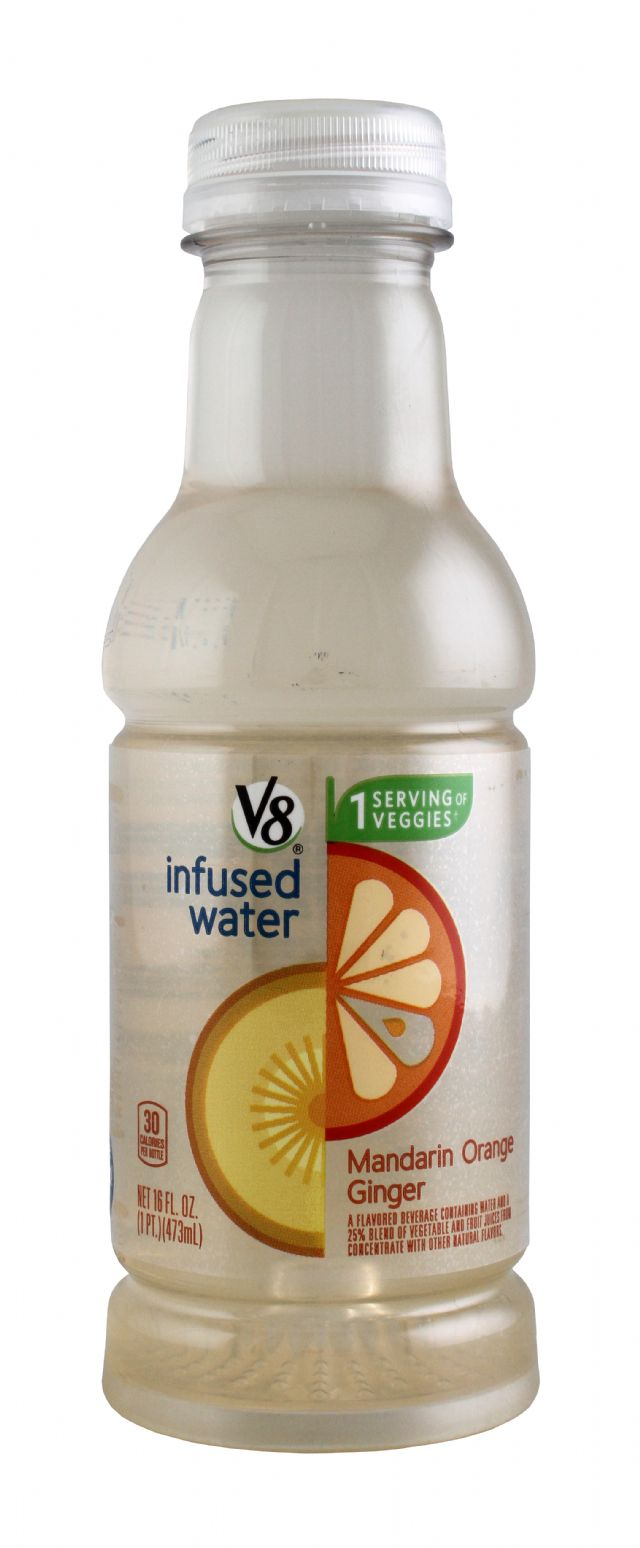V8 Infused Water: V8Infused MandOrang Front