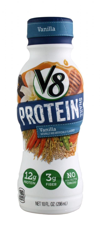 V8 Protein: V8Protein Vanilla Front