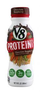 V8 Protein: V8Protein ChocoRasp Front