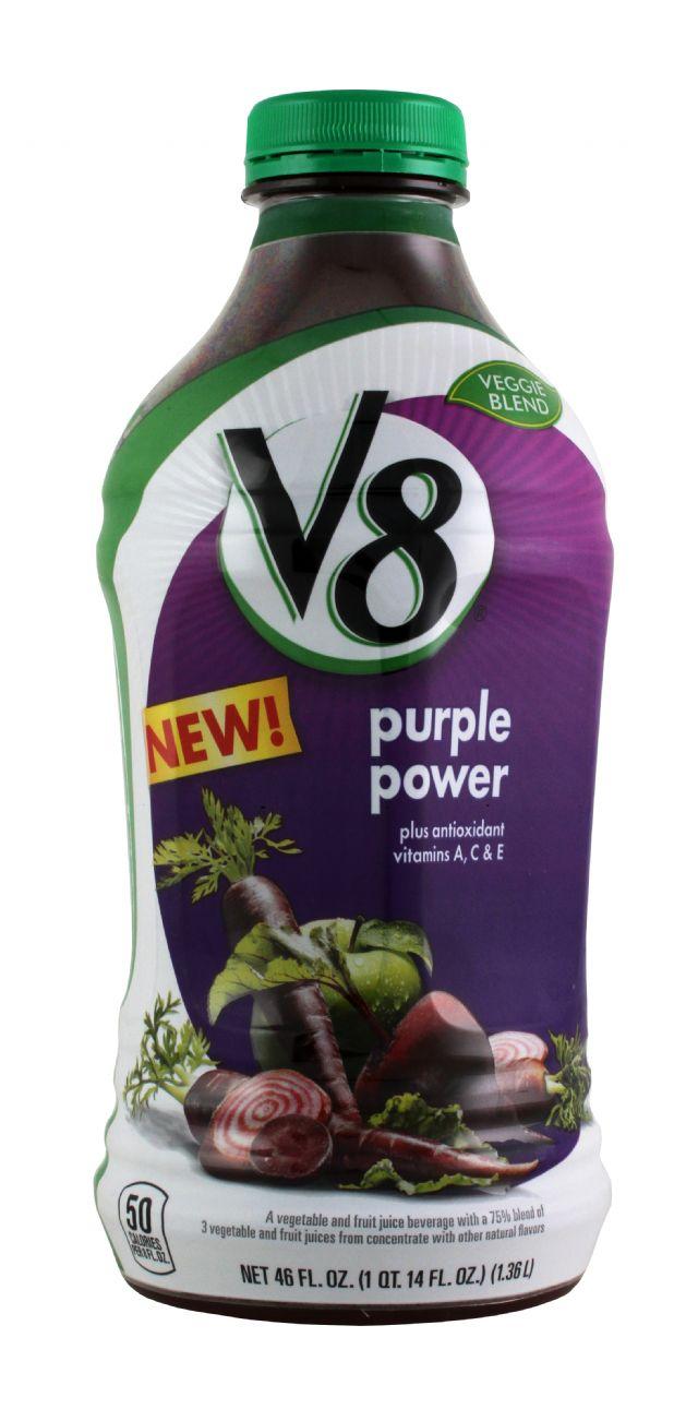 V8 Veggie Blends: V8 PurplePower Front