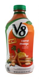 V8 Veggie Blends: V8 CarrotMango Front