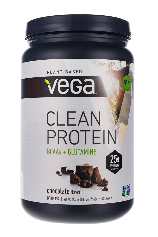 Vega: Vega-CleanProtein-Choc-Front