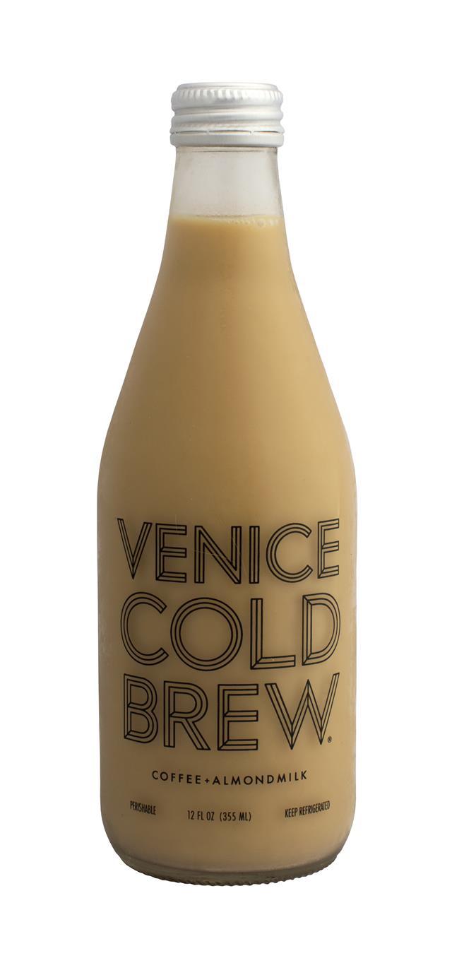 Venice Cold Brew: Venice AlmondCoffee Front