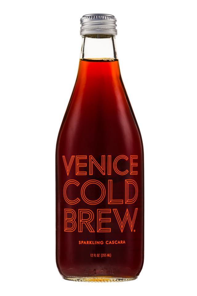 Venice Cold Brew: VeniceColdBrew-12oz-SparklingCascara-Front