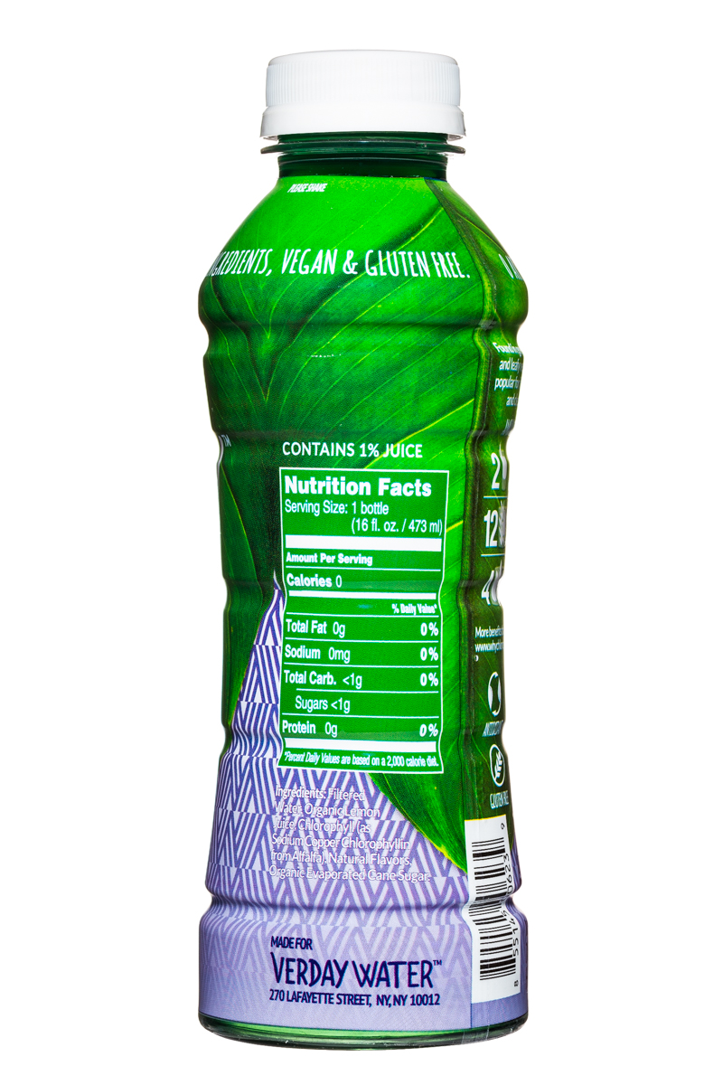 Verday: Verday-16oz-ChlorophyllWater-Blueberry-Facts