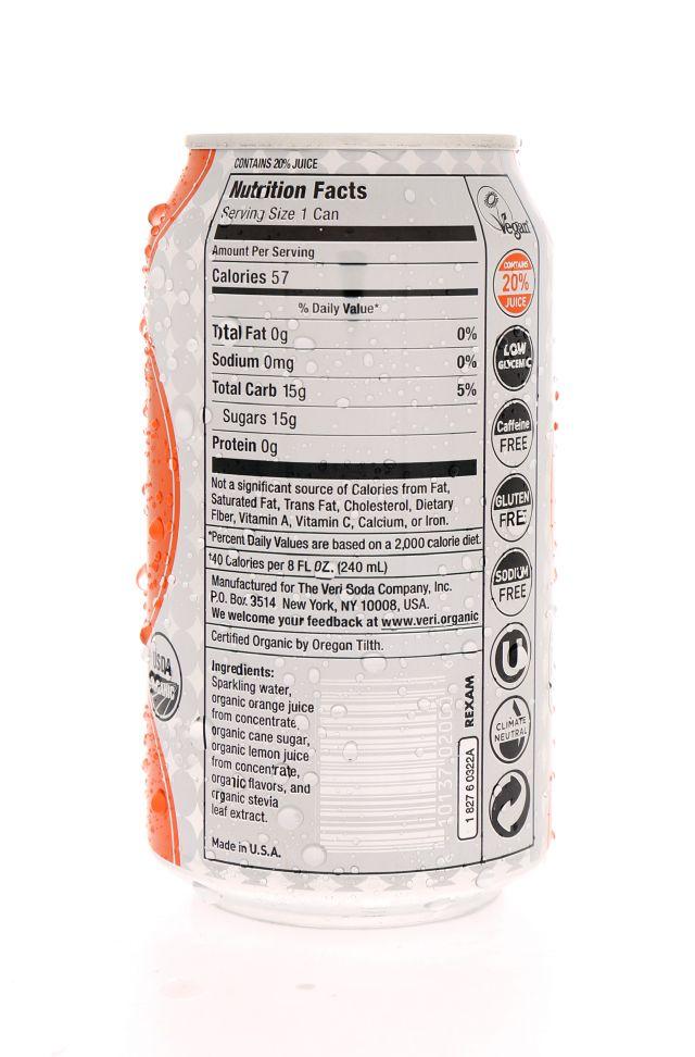 Veri Soda: Veri Orange Facts
