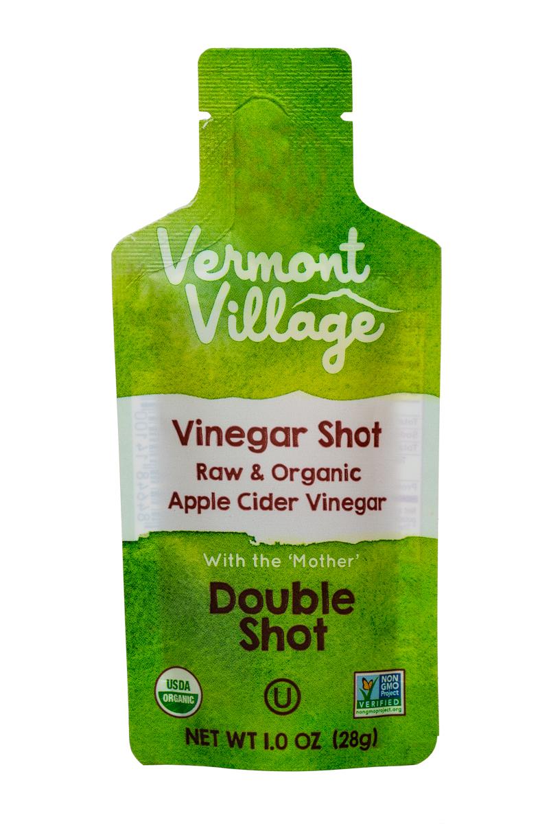 Vermont Village Vinegar Shots: VermontVillage-1oz-VinegarShot-DoubleShot-Front