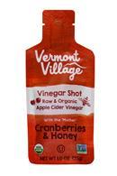 Vermont Village Vinegar Shots: VermontVillage-1oz-VinegarShot-CranHoney-Front