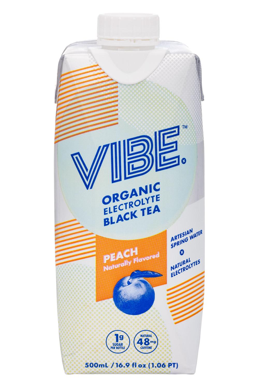 Organic Electrolyte Black Tea - PEACH