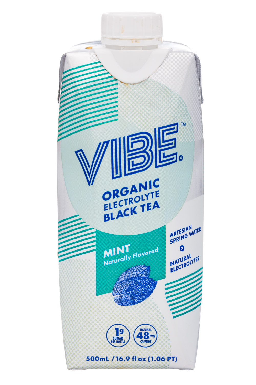 Organic Electrolyte Black Tea - MINT