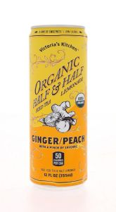 Organic Half & Half - Ginger/Peach