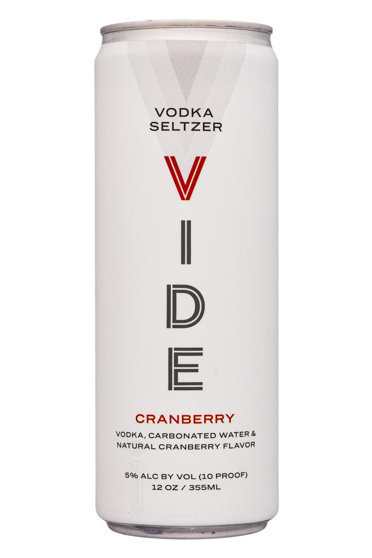Vodka Seltzer - Cranberry