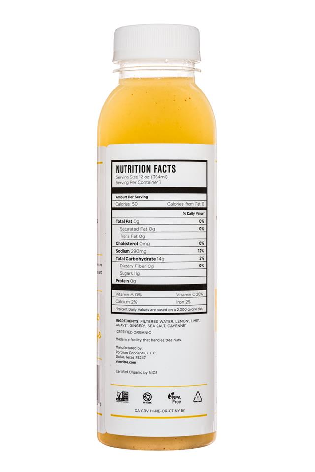 Vim Vitae: VimVitae-Limeades-12oz-Ginger-Facts