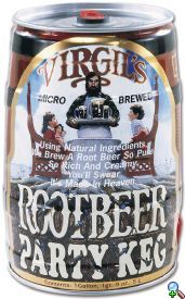 Virgil's Root Beer Keg