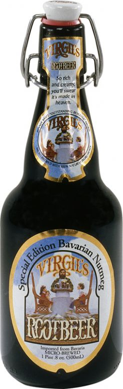 Virgil's Sodas: Virgil's Root Beer - Special Edition Bavarian Nutmeg