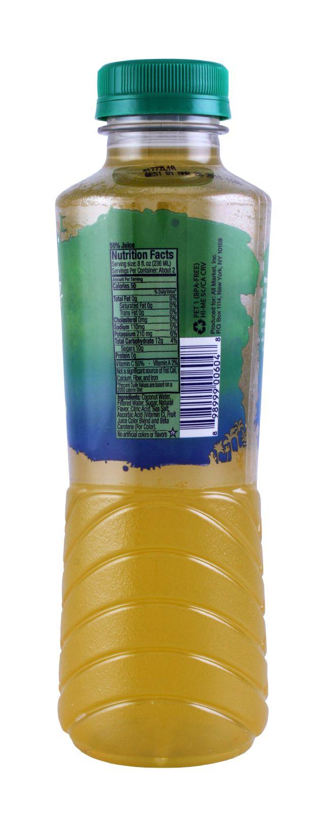 Vita Coco Sport: VitaSport LemonLime Facts