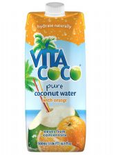 Coconut Water with Orange