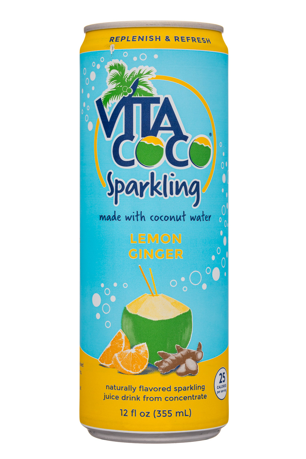 Sparkling Lemon Ginger