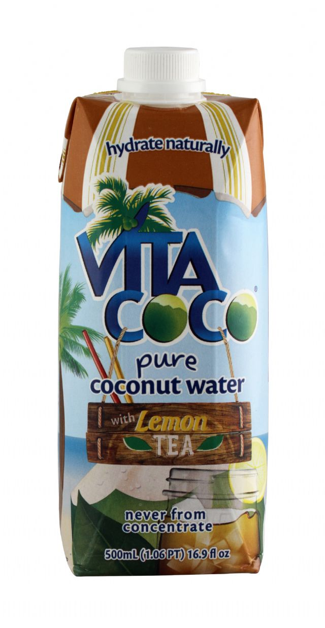 Vita Coco Coconut Water: VitaCoco LemonTea Front