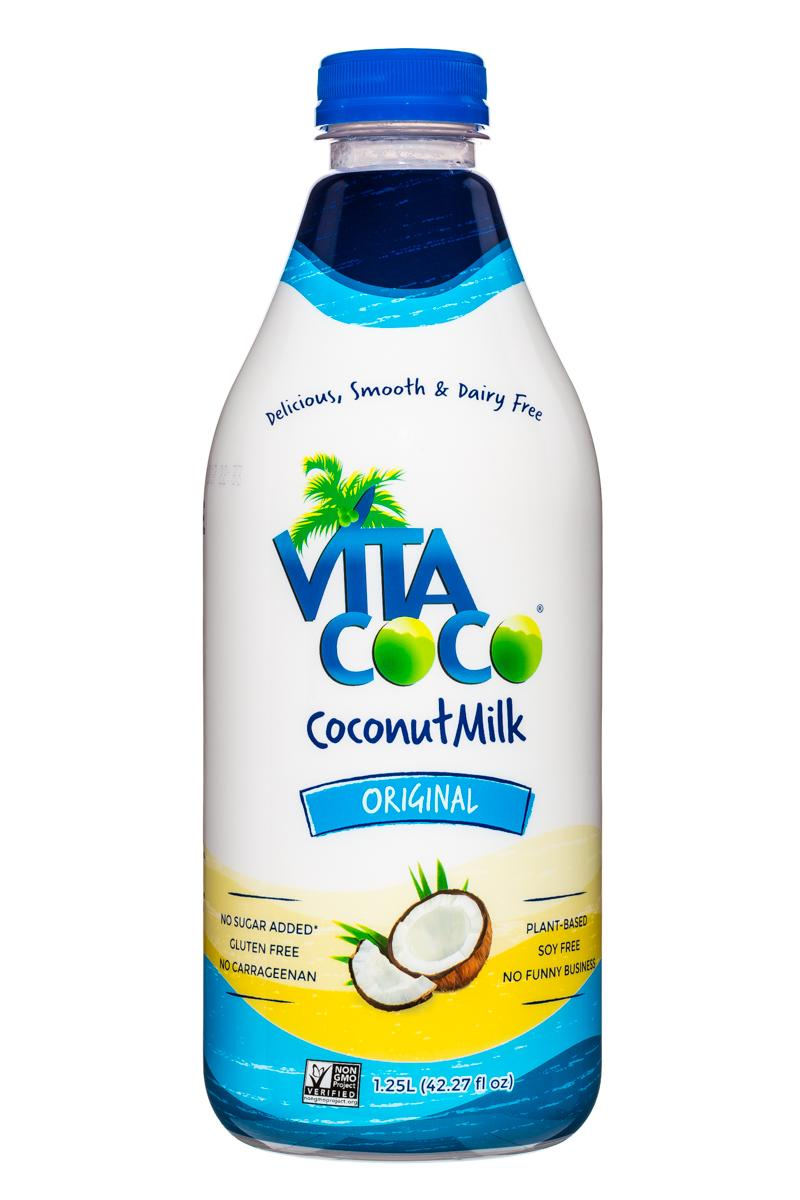 Vita Coco Coconut Water: VitaCoco-CoconutMilk-42oz-OG-Front