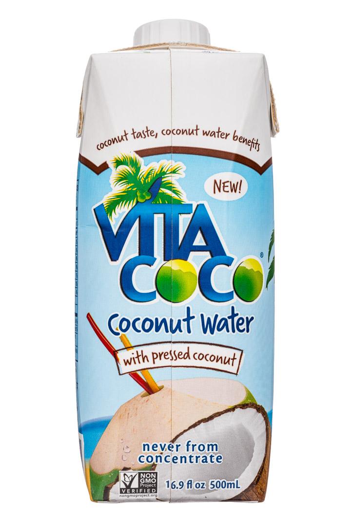 Vita Coco Coconut Water: VitaCoco-17oz-CoconutWater-PressedCoconut-Front