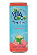 Vita Coco Coconut Water: VitaCoco-12oz-Sparkling-Grapefruit-Front