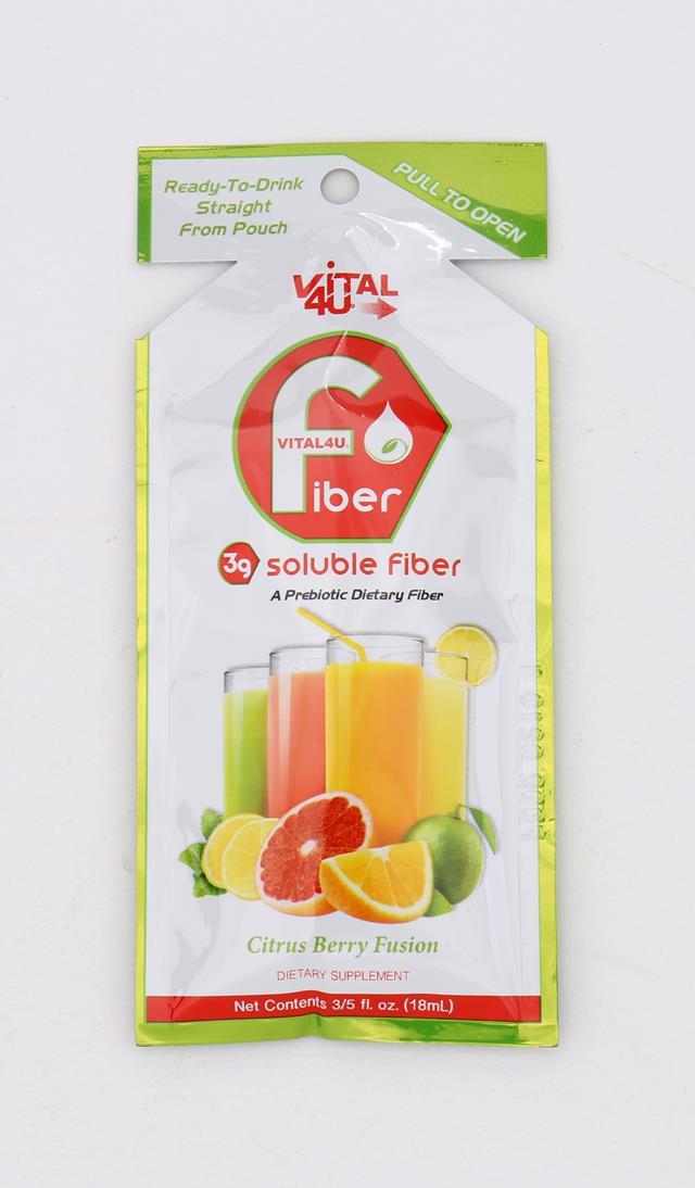 Vital 4U: Vital4U SolubleFiberCitrusBerry Front