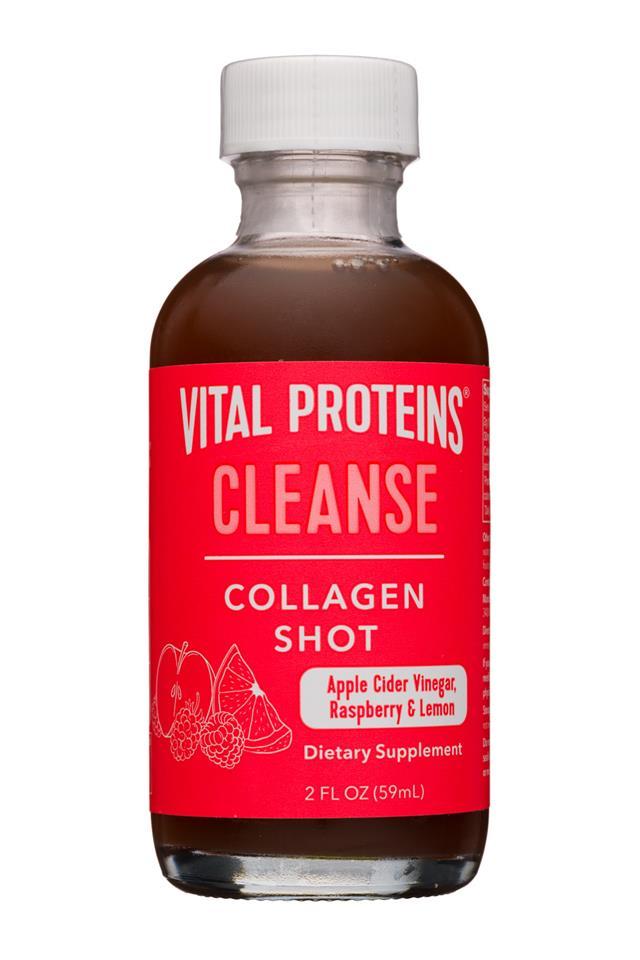 Vital Proteins: Collagen Shot: VitalProteins-2oz-CollagenShot-Cleanse-Front