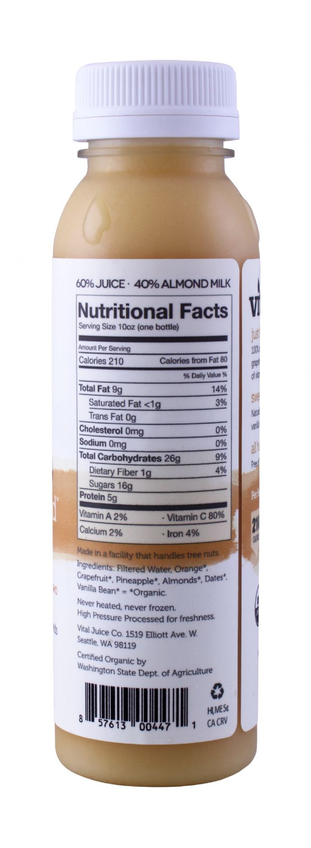 Vital Juice: VitalAlmond Citrus Facts