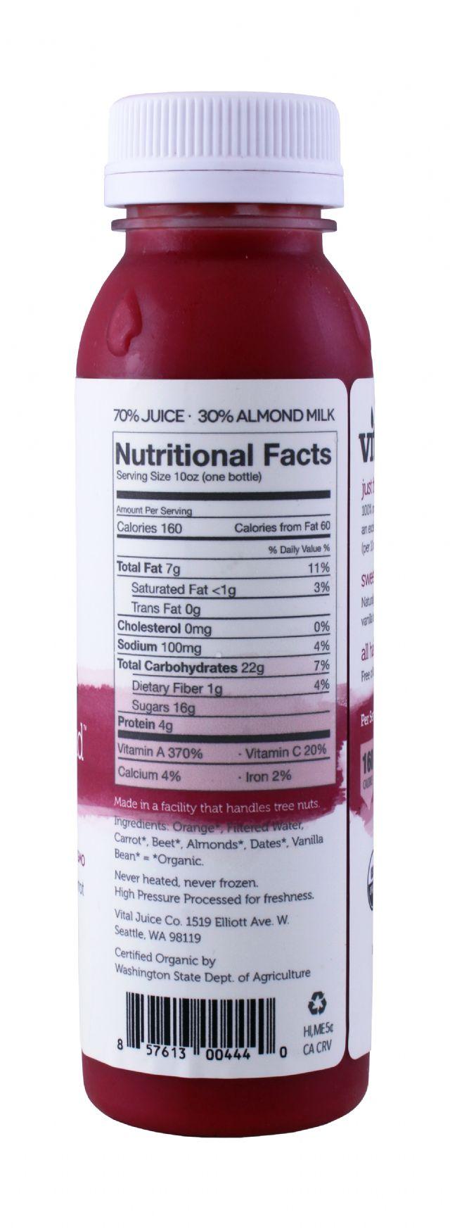 Vital Juice: VitalAlmond Beet Facts