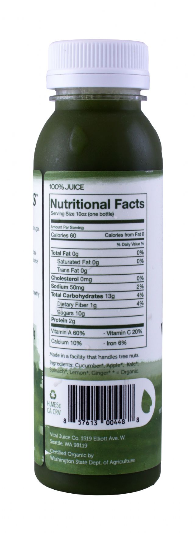 Vital Juice: Vital Greens Facts