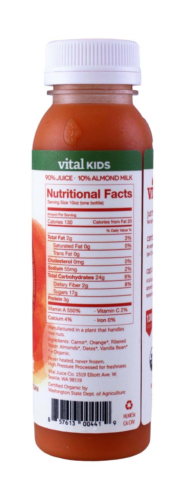Vital Juice: VitalKids CaptCarrot Facts
